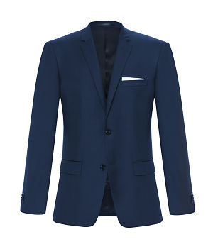 Classic Savile Row suit in navy
